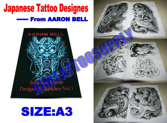 AARON BELL Tattoo book