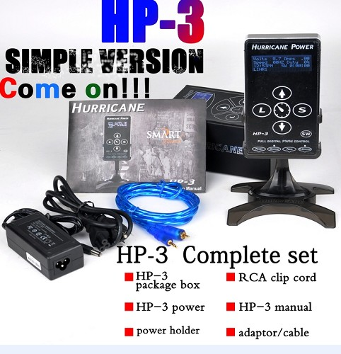 Simple Version Hurricane HP-3 Tattoo power supply