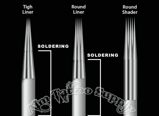 Tight liner tattoo needle tight liners tattoo needles for Shading needle tattoo