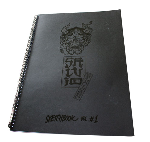 Hardcover Sketch book