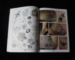 New fashion flower tattoo book 3