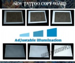 New Touch switch tattoo tracing board A3 With Double Light
