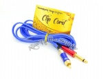 Snake king Tattoo RCA Silica gel clip cord