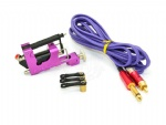 New Stealth II Rotary Tattoo Gun Kit With RCA Tattoo Clip Cord