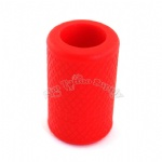 Red Soft Silicone Tattoo Grip Cover