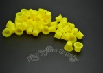 New Yellow Tattoo Ink Cup 1000PCS Small Size