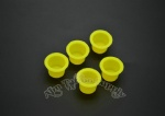 Hot Sell Yellow Plastic Tattoo Ink Cup With Professional Package