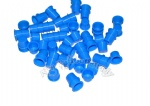 New Design Packing Blue Tattoo Ink Cups Large Size 400pcs