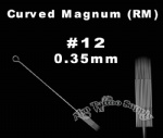 #12 Curved Magnum tattoo needles RM