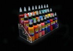 Imported Acrylic Tattoo Ink Tier Display Stand