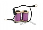 Handmade Purple Color Import Copper Tattoo Coils