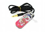 Beautiful Girl Skull Style Tattoo Foot Pedal