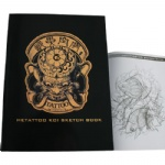 Hetattoo Koi Sketch Book